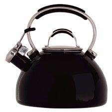 2L Induction Safe Stovetop Kettle in Black