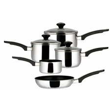 Prestige 5-Piece Non-Stick Stainless Steel Cookware Set