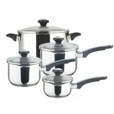 Prestige 4-Piece Stainless Steel Cookware Set