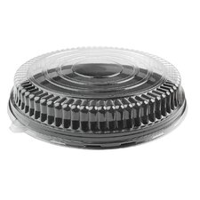 Platter Pleasers Low Dome PET Lid (Set of 25)