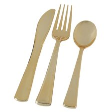 Golden Secrets 324 Piece Flatware Set