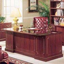 Bedford Executive Desk with Double Pedestal