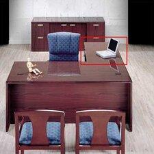 """Vitality 29"""" H x 48"""" W 3/4 Pedestal Left Desk Return"""