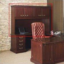"Bedford 48"" H x 72"" W Storage Hutch with 4 Doors"