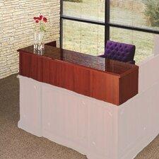 "Bedford 14"" H x 66"" W Desk Reception Screen"