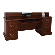 Bedford Executive Desk with 3 Right & 3 Left Drawers