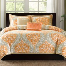 Senna 5 Piece King/California King Duvet Set