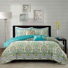 Tasia Comforter Set in Green
