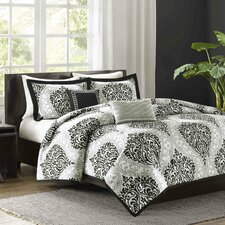 Senna 5 Piece King/California King Duvet Cover Set