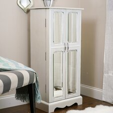 Chelsea Jewelry Armoire with Mirror