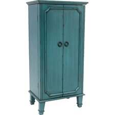 Cabby Jewelry Armoire with Mirror
