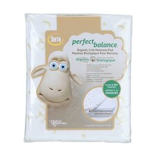 Serta® Perfect Balance® Deluxe Organic Crib Mattress Pad