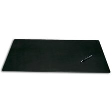 1000 Series Classic Leather 34 x 20 Desk Mat without Rails in Black
