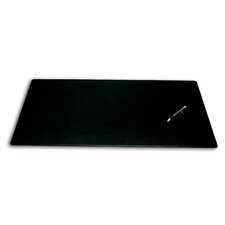 1000 Series Classic Leather 30 x 19 Desk Mat without Rails in Black