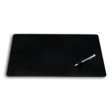 1000 Series Classic Leatherette 17 x 14 Conference Pad in Black