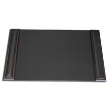 8000 Series Walnut and Leather 25.5 x 17.25 Desk Pad