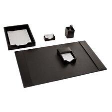 Econo-Line Leather 5 Piece Desk Set