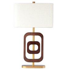 "Wood Wonder 22"" H Table Lamp with Rectangular Shade"