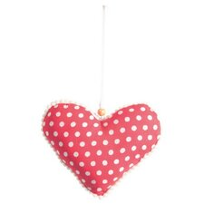 Decorative Hanging Dotty Heart Wall Décor
