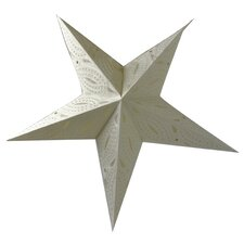 50 cm Lampenschirm Star aus Papier