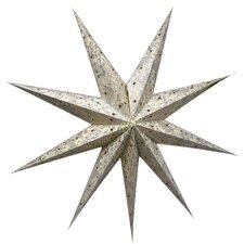 80 cm Lampenschirm Star aus Papier