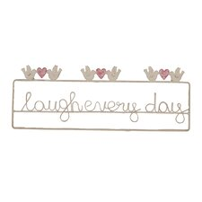 Laugh Every Day Sign Wall Decor