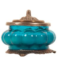 Ocean Breeze Perfumed Candle in Glass Jar
