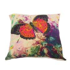 Kissenhülle Butterfly aus Baumwolle