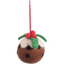 Zierfigur Weihnachtspudding