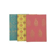 3 Piece Print Notebooks Set