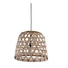 40 cm Lampenschirm aus Bambus