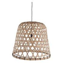 58 cm Lampenschirm aus Bambus