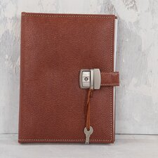 Hard Cover Spiral Notebook with Lock
