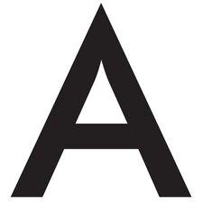 Alpha Greek Letter Wall Decal