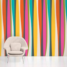 "French Bull 2.17' x 26"" Stripes Wallpaper"
