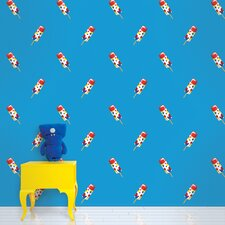 "Push Pops 2.17' x 26"" Food and Beverage Wallpaper"