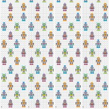 "French Bull 2.17' x 26"" Robots Wallpaper"