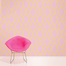 "Quatrefoil 2.17' x 26"" Geometric Wallpaper"