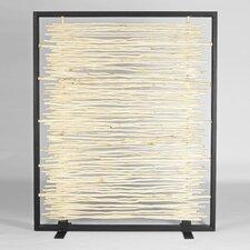 Naturals Bleached Driftwood Framed Screen