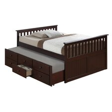 Marco Island Full Captain's Bed with Trundle
