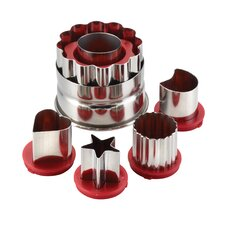 Everyday Linzer 6 Piece Cookie Cutter Set