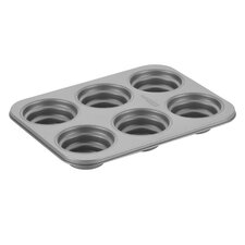 Non-Stick 37.8 cm Stacked Circle Carbon Steel Cakelette Pan
