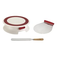 3 Piece Cake Decorating Set