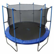 Trampoline with Safety Enclosure