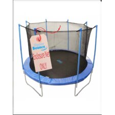 Round Trampoline Net using 8 Poles or 4 Arches