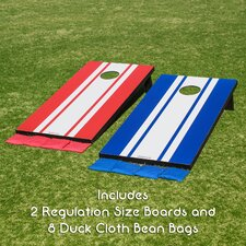 11 Piece Regulation MDF Cornhole Set