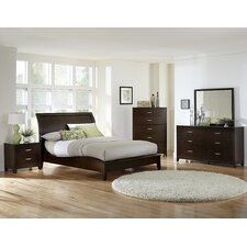 Starling Sleigh Bed
