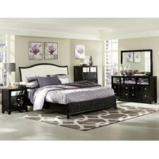 Jacqueline Queen Panel Customizable Bedroom Set