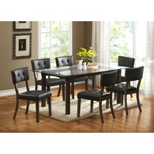 Clarity 7 Piece Dining Set
