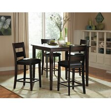 Griffin 5 Piece Counter Height Dining Set (Set of 5)